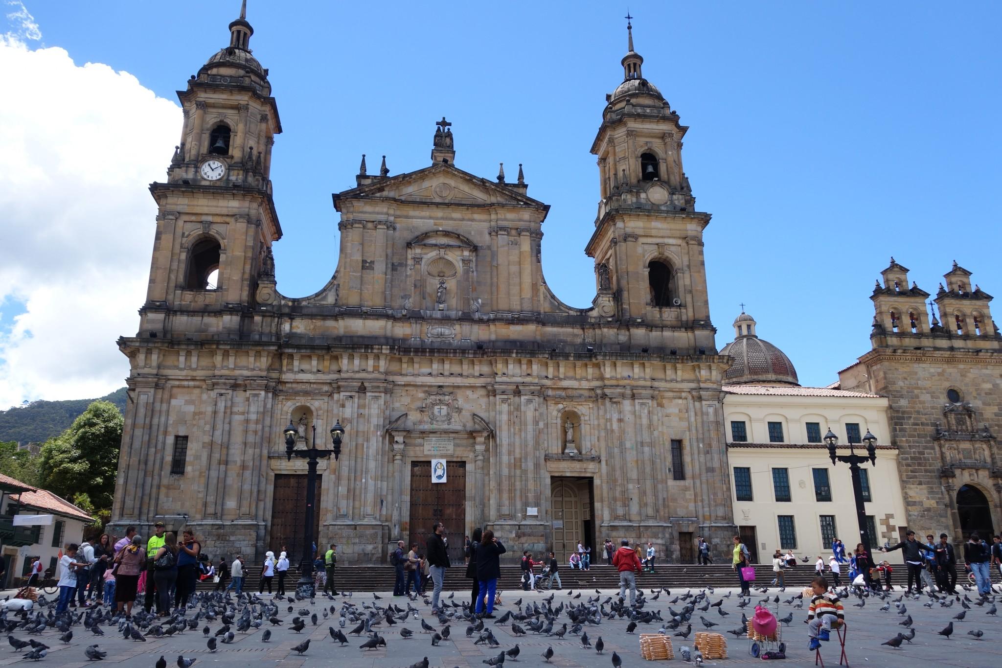 Kirche in La Candelaria, die Altstadt Bogotás