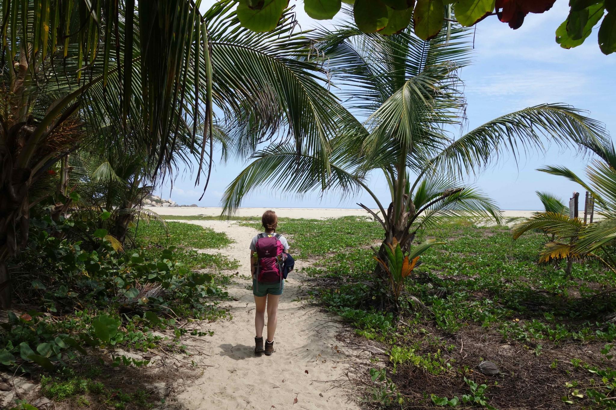 Parque Tayrona zwischen Strand und tropischem Regenwald