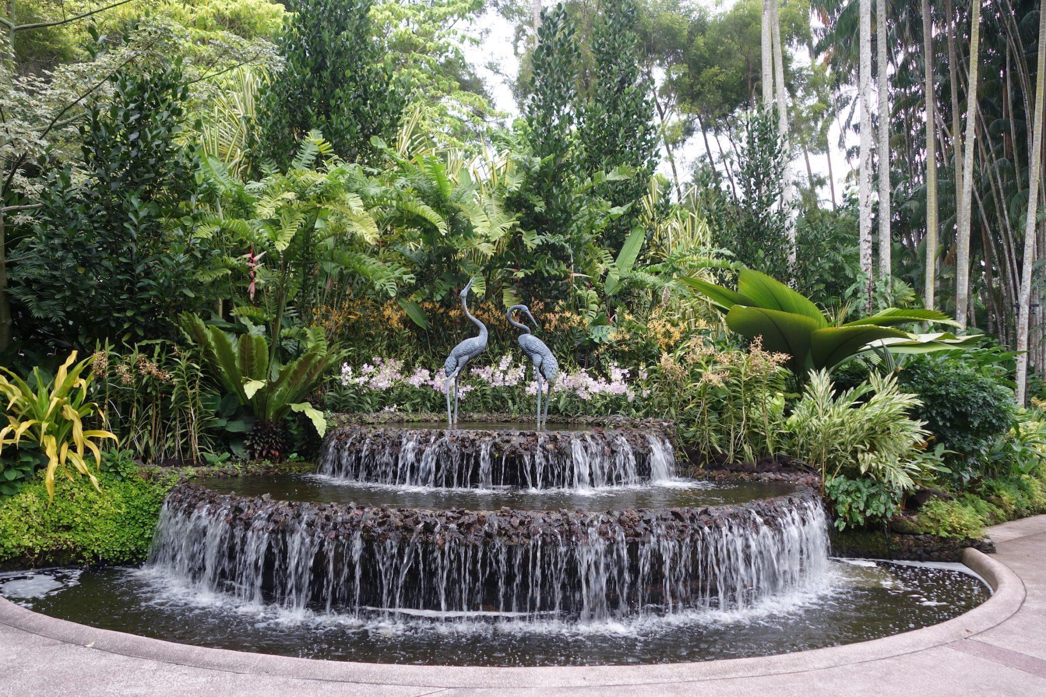 Singapur_BotanicGardens_3_Brunnen