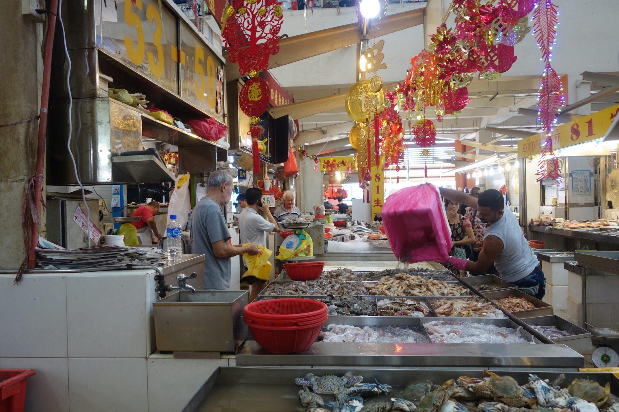 Singapur_LittleIndia_Fischmarkt